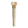 Weksler G1M3D2 Industrial Thermowell, Brass, 1-1/4-18