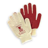 North By Honeywell 81/1162SZJ Knit Glove, M, White/Rust, PR