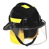 Cairns 360SFS BLACK Fire Helmet, Black, Modern