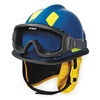 Cairns C-MOD-B3B111200 Fire and Rescue Helmet, Blue, Modern