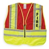 Ml Kishigo 8052B/M-XL Public Safety Reflective Vest, Red, M/XL