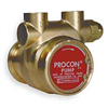 Procon 102A140F11PA 250 Pump, Rotary Vane, Brass