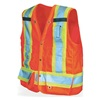 Viking U6195G-XXL High Visibility Vest, Class 2, 2XL, Lime