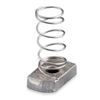 Caddy SPRA0037EG Channel Nut w/ Spring, 3/8-16, Steel