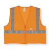Jackson Safety 3010721 High Visibility Vest, Class 2, L, Orange