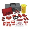 Brady 99312 PortableLockout Kit, Filled, Electrical, 21