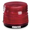 Federal Signal 141ST-024R Strobe Light, Red, Permanent, Strobe Tube