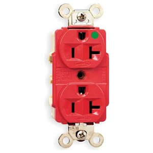 Hubbell Wiring Device-Kellems HBL8300RED