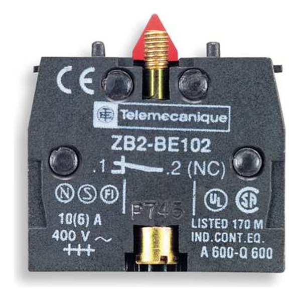 TELEMECANIQUE ZB2BE102 CONTACT BLOCK