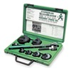 Greenlee 7238SB Hole Punch Set, 1/2-2 In, 15 Pc