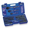 Westward 4PM18 Socket Set, 1/4, 3/8, 1/2 Dr, 89 Pc