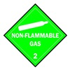 Brady 63441 Vehicle Placard, Non Flammable Gas