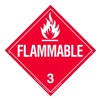 Brady 63409 Vehicle Placard, Flammable