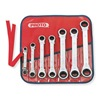 Proto J1180MA Reversible Wrench Set, Metric, 7 PC