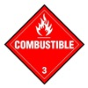Brady 63444 Vehicle Placard, Combustible