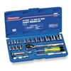 Westward 4PL99 Socket Set, SAE, 1/4, 3/8 Dr, 23 Pc