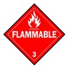 Brady 63443 Vehicle Placard, Flammable