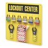 Prinzing 3003Y Lockout Station, Filled, 6 Steel Locks