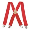 Westward 6NE85 Suspenders, Red, Universal