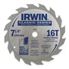 Irwin Marathon 15030 Crclr Saw Bld, Crbde, 7-1/4 In Dia, 16 TPI