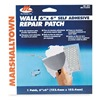 Marshalltown DP4 Drywall Patch, 4 x 4 Inches, Self Adhesive