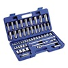 Westward 6XZ83 Socket Set, 53 Pieces