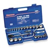 Westward 4PM03 Socket Set, 26 Pieces