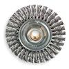Weiler 13131 Twist Wheel Brush, 4 In