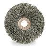 Weiler 15573 Wheel Brush, Steel, 3 In Dia