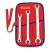 Proto J3760 Flare Nut Wrench Set, 6 Pt, 3/8-11/16, 3 Pc