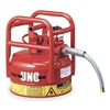 Justrite 7325130 Type II DOT Safety Can, 16-1/2 In. H, Red