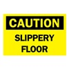 Brady 70528 Caution Sign, 10 x 14In, BK/YEL, Fiberglass