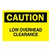 Brady 85859 Caution Sign, 10 x 14In, BK/YEL, ENG, Text