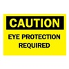 Brady 40964 Caution Sign, 10 x 14In, BK/YEL, AL, ENG