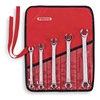 Proto J3700M Flare Nut Wrench Set, 6 Pt, 7-17mm, 5 Pc