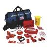 Brady 99691 Portable Lockout Kit, Electrical/Valve, 17