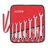 Proto J3700AT Flare Nut Wrench Set, 12 Pt, 3/8-3/4in, 7Pc