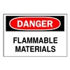 Brady 85184 Danger Sign, 10 x 14In, R and BK/WHT, ENG