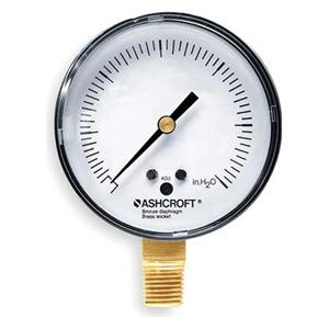 """Ashcroft 25 1490A 02L 15"""" H20"""