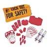 Brady 65777 PortableLockout Kit, Filled, Electrical, 43