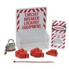 Prinzing 3075 Lockout Station, Filled, Electrical, 1 Lock