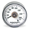 Ashcroft 50MM DDG 02B 100# Pressure Gauge, Direct Drive, 2 In, 100 Psi