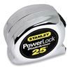 Stanley 33-525 Measuring Tape, Chrome, 25 Ft, Forward Lock