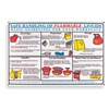 Brady PS131E Training Poster, 18 x 24In, Laminated PPR