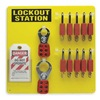 Brady 51187 Lockout Station, Filled, 26 Components