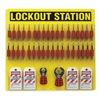 Brady 51195 Lockout Station, Filled, 78 Components