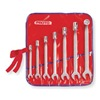 Proto J1270A Combo Wrench Set, Antislip, 3/8-3/4 in, 7Pc