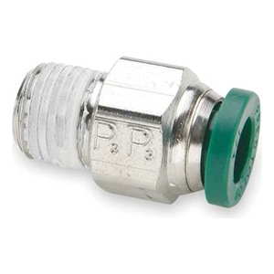 Parker Male Connector, NP Brass, 3/16 In, PK 10 at Sears.com