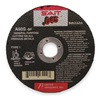 United Abrasives-Sait 23101 Abrsv Cut Whl, 4-1/2 Dx0.045 to 0.125In T