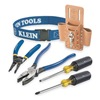 Klein Tools 80006 Trim-Out Tool Set, 6 PC w/Tool Pouch